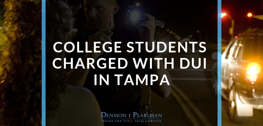 College Students Charged With DUI in Tampa