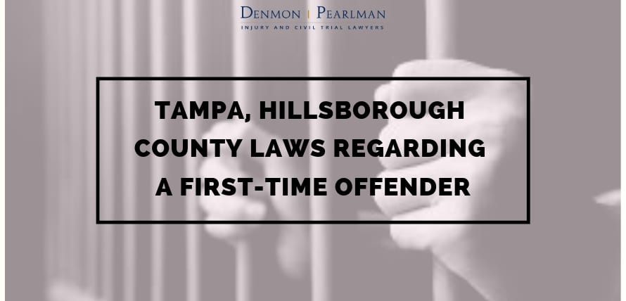 Tampa, Hillsborough County Laws Regarding a First-Time Offender